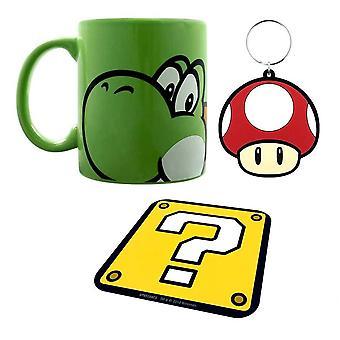 Super Mario, Giftset - 3 parties