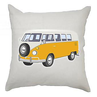 Campervan Cushion Cover 40cm x 40cm Light Orange