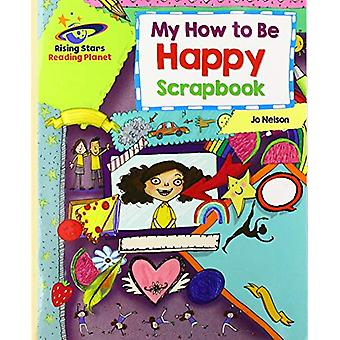 Reading Planet - My How to Be Happy Scrapbook - Gold - Galaxy by Katie
