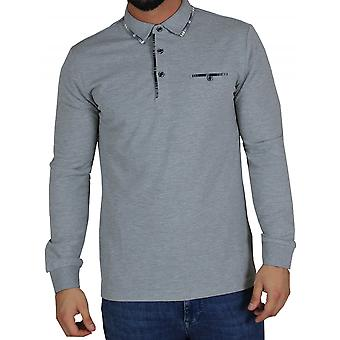 D-ROCK Cody Polo Shirt Grey