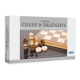 مجموعة الشطرنج الجفاف & ديلوكس (2.5 بوصة والملك)