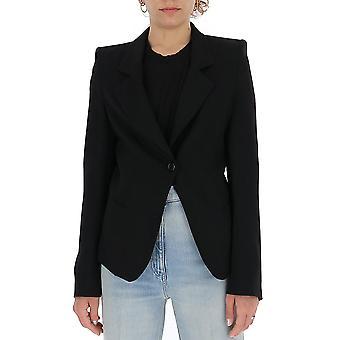Ann Demeulemeester 20011022170099 Kvinnor's Black Wool Blazer