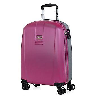 JASLEN Bucarest Handbagage Trolley S dames, 4 wielen, 39 cm, 35,5 L, Roze