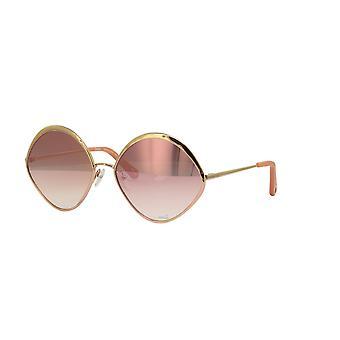 Chloe Dani CE168S 886 Rose Gold/Revo Rose Peach Sunglasses