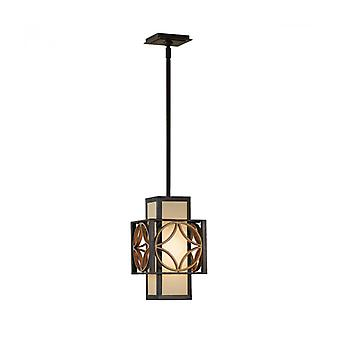 Remy Pendant Light, Bronze And Gold, 20 Cm