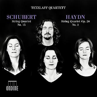 Haydn / Schubert / Quartett - Schubert: String Quartet No 15 / Haydn: String [CD] USA import