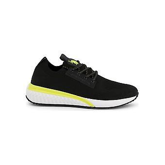 U.S. Polo Assn. - Schuhe - Sneakers - FELIX4163W9-T2-BLK-GREY - Herren - black,yellow - EU 44