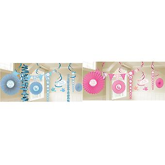 Kit de décoration amscan first holy communion church bunting