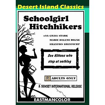 Schoolgirl Hitchhikers (1973) [DVD] USA import
