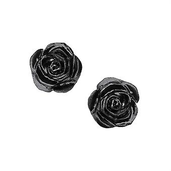 Alchemy Black Rose Ohrstecker