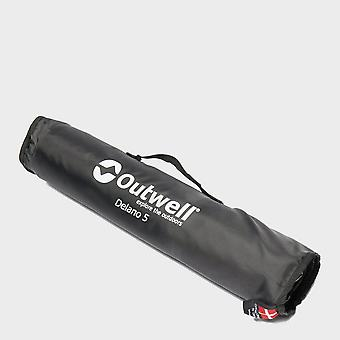 Outwell Delano 5 Tent Carpet Black
