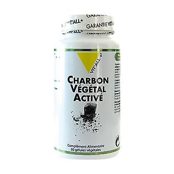 Active Vegetable Charcoal 400mg 60 vegetable capsules