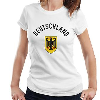 Toff Vintage Football Germany Women's T-Shirt