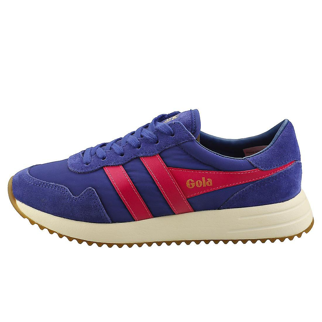 Gola Vancouver Womens Fashion Trainers in Blue Pink
