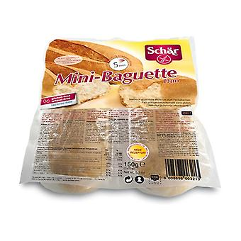 Gluten-Free Mini Baguette Duo 2 units of 75g