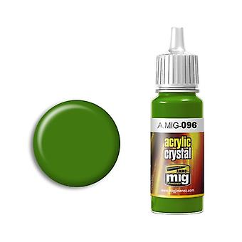 Ammo by Mig Acrylic Crystal Green Periscope (and tail light) 17ml