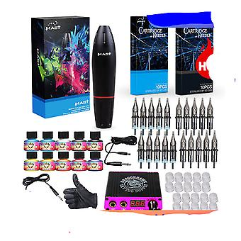 Professionele Tattoo Kits, Rotary Tattoo Pen Machine Guns - Permanente make-up