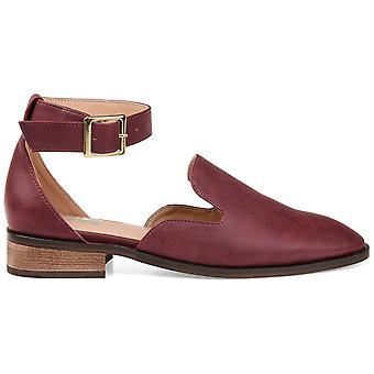 Brinley Co Naisten loreta avoin toe rento nilkan hihna sandaalit