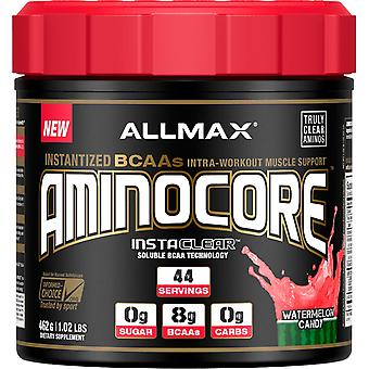ALLMAX Nutrition, AMINOCORE, Instantized BCAAs Intra-Workout Muscle Support, Wat