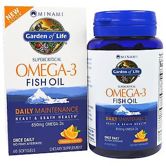 Minami Nutrition, Supercritical, Omega-3 Fish Oil, 850 mg, Orange Flavor, 60 Sof