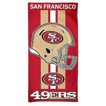 Wincraft NFL San Francisco 49ers beach towel 150x75cm