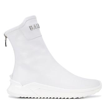 B Glove Logo High-Top Sneakers