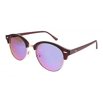 Sunglasses Unisex Cat.3 Green/Purple (19-191)