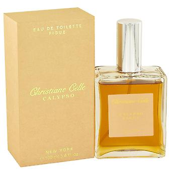 Calypso Figue Eau De Toilette Spray By Calypso Christiane Celle 3.4 oz Eau De Toilette Spray