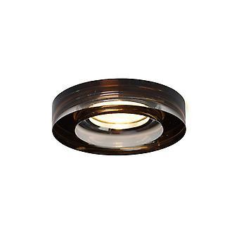 Inspirert Diyas - Krystall Downlights - Innfelt Downlight Deep Round Rim Only Bronse, krever 100035310 for å fullføre elementet