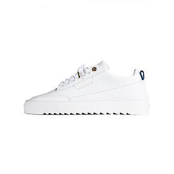 Mason Vêtements White Torino Cuir Sneaker
