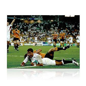 Jason Robinson unterschrieb England Foto: 2003 Rugby-WM-Sieger