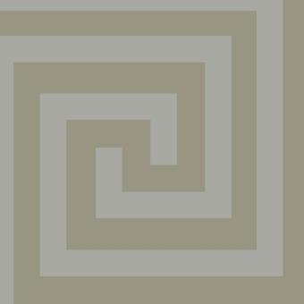 Athena Geometric Wallpaper Silver Debona 4013