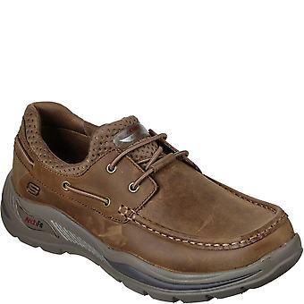 נעלי עור סקשרס מאנס פיט מוטלי עור