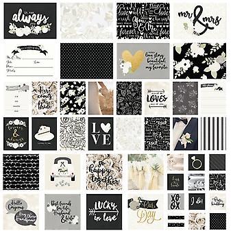 Simple Stories Snap! Card Pack - 48/Pkg-Always & Forever