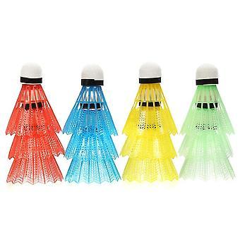 Volants colorés de badminton