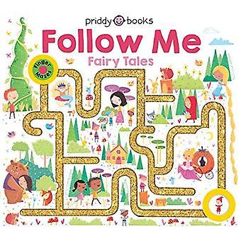 Maze Book: Follow Me Fairy� Tales (Finger Mazes) [Board book]