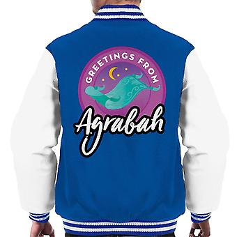 Disney Aladdin terveiset Agrabah Men's Varsity Jacket