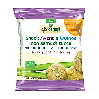 Oat and quinoa snack - with pumpkin seeds 35 g