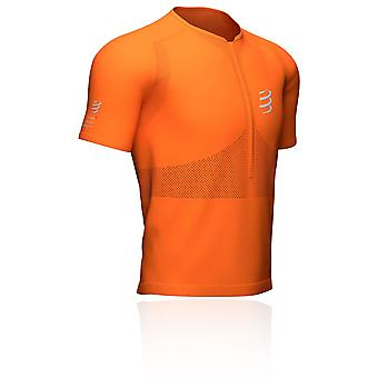 Compressport Trail Half-Zip Fitted T-Shirt