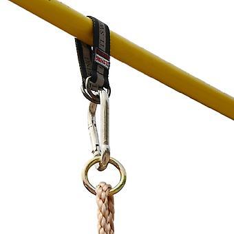 2 kpl kestävä vahva 24cm hihnan ripustus keinutuoli /riippumatto Swingset/tree