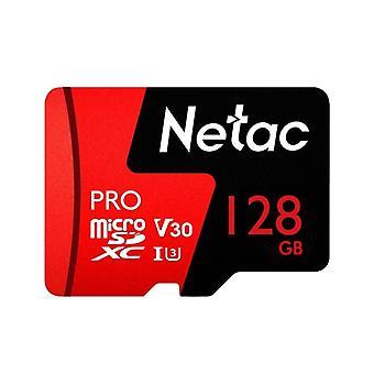 Netac P500 PRO 128GB U3 Speed Level Automobile Data Recorder Monitor Kamera Speicherkarte TF Karte