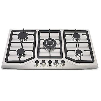 Stainless Steel Stove Burners Built-in Natural Gas Propane Household Cooker