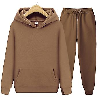 Heren's Hoodies+pants Herfst Winter Hooded Sweatshirt Sweatpants