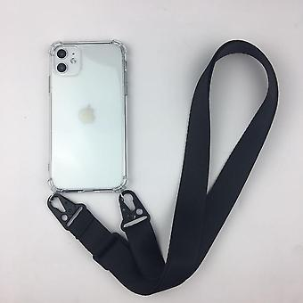 Liquid Silicone Chain Necklace Cell Phone Case Neck Strap Rope Cord For Iphone