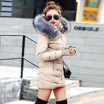 Téli kabát nők téli-őszi viselet kiváló minőségű felsőruházat hosszú kabátok