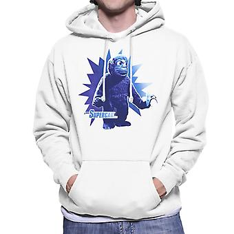 Supercar Mitch The Monkey With Banana Men's Hooded Sweatshirt