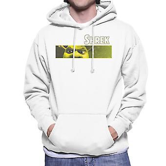 Shrek Close Up Shot Men's Hooded Sweatshirt