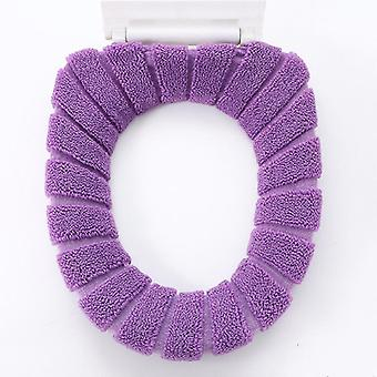 Nordic Style O-knit Cotton Thread Super Soft Toilet Seat Cushion Thickened