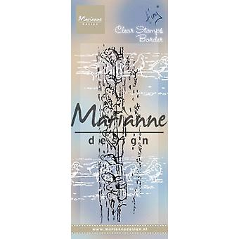 Marianne Design Clear Stamps Tiny's Border - Sandpipers Tc0875 1 Pc. 139x34.5 cm