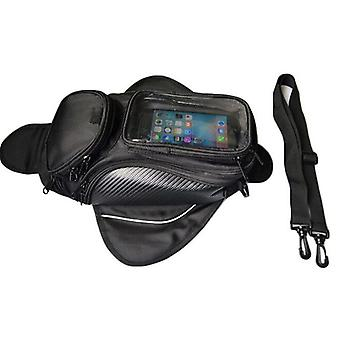 Motorcycle Tank/oil Fuel And Magnetic Moto Saddle Luggage Gps Phone Bag Bigger
